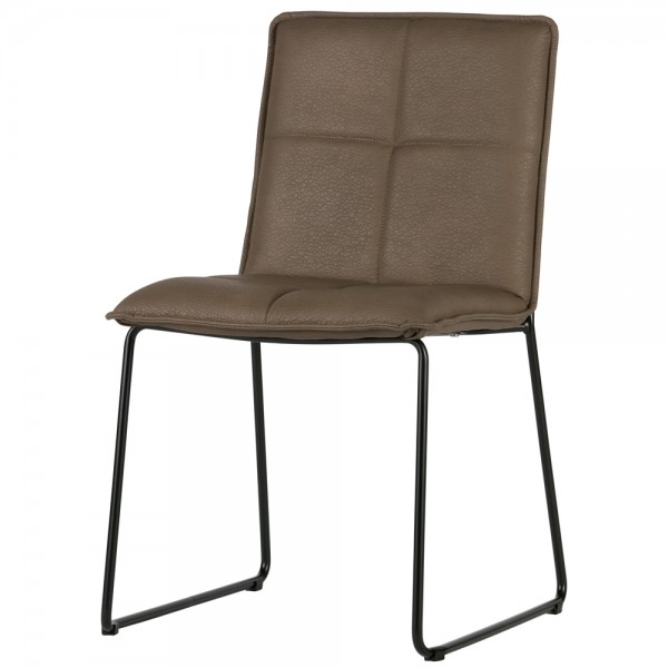 2er Set Esszimmer Stuhl EVAN Küchenstuhl Esszimmerstuhl Kufenstuhl Dinnerstuhl