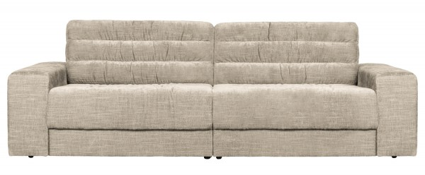 BePureHome 2 Sitzer Sofa Date vintage nougat Couch