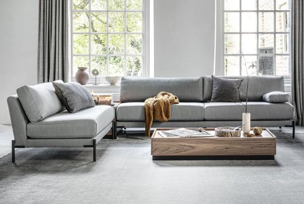 vtwonen 3 Sitzer Sofa Sleeve 242 cm hellgrau Couch
