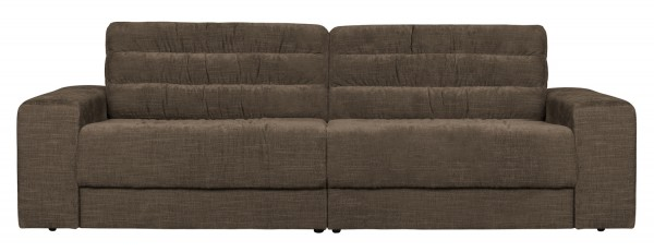 BePureHome 2 Sitzer Sofa Date vintage warmgrau Couch