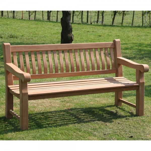 Hervorragend 4 Sitzer TEAK Gartenbank PATRICK 200 cm Sitzbank Bank Garten JQ05