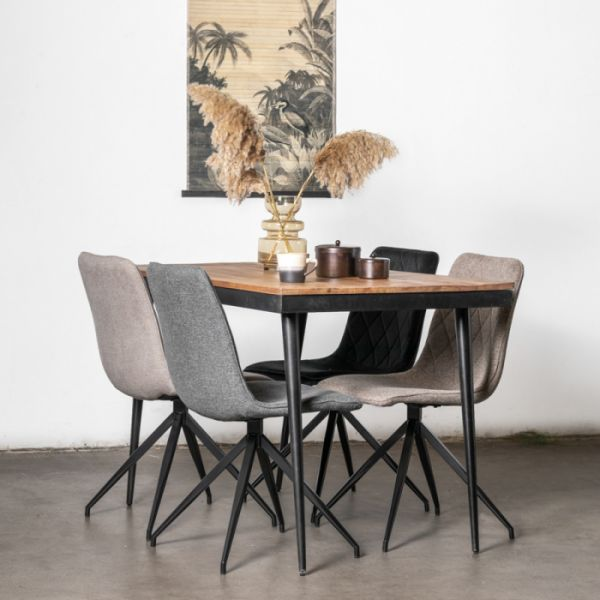 Esstisch Joey 160 x 100 cm Mango Holz
