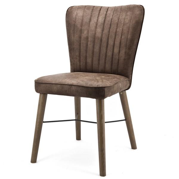 Stuhl CHIBA Küchenstuhl Esszimmerstuhl Esszimmer Polsterstuhl Stoff gepolstert