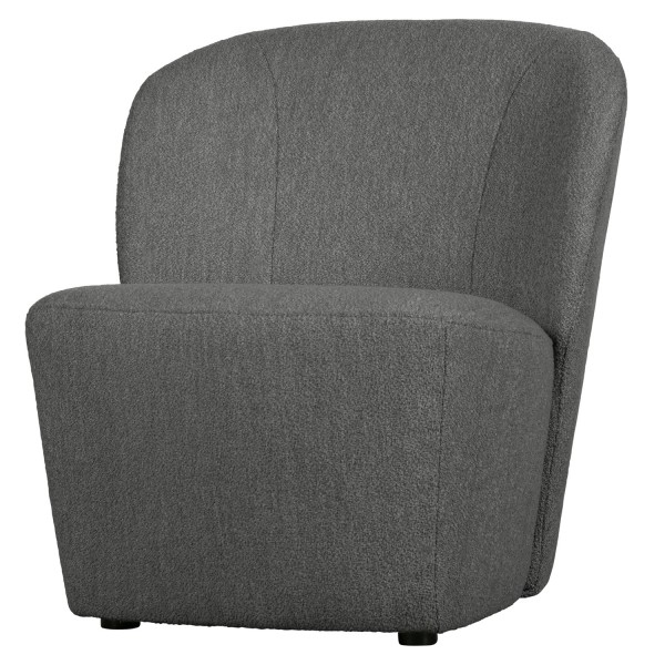 vtwonen Loveseat Sessel Lofty Bouclé grau Loungesessel
