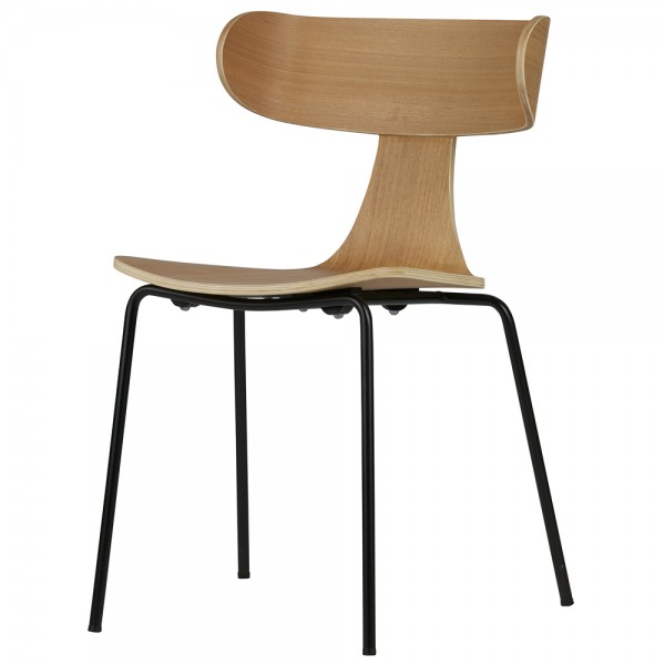 Stapelstuhl FORM Esche Stuhl stapelbar Esszimmerstuhl Küchenstuhl Konferenzstuhl