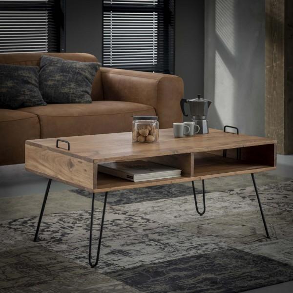 Couchtisch Serge 100 x 60 cm Akazie Holz