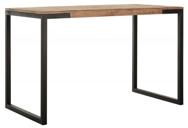 MUST Living Bartisch Elemental 140 x 80 x 90 cm Teak Holz Metall