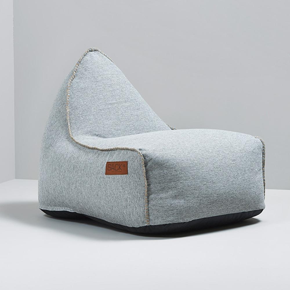 garten sitzsack cobana f r drinnen und drau en retro sand. Black Bedroom Furniture Sets. Home Design Ideas