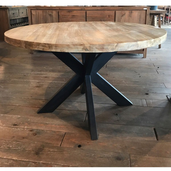 Esstisch BEEK Ø 130 cm Holz natur
