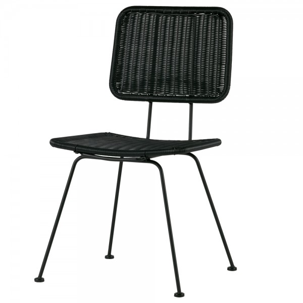2er Set Stuhl HILDE Kunstrattan Esszimmerstuhl Küchenstuhl Lehnstuhl Wartezimmer