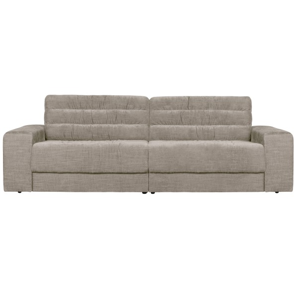 BePureHome 2 Sitzer Sofa Date 226 cm vintage Samt nougat Couch
