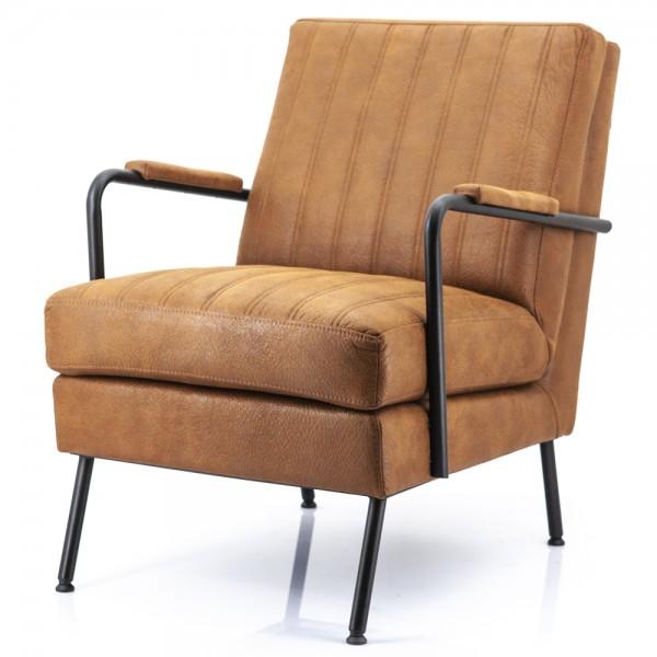 Lounge Chair Tilo Cherokee cognac Sessel