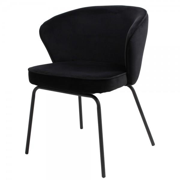 2er Set Esstischstuhl Admit samt schwarz Stuhl