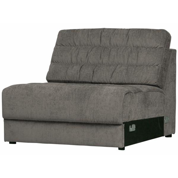 Zusatzelement für 2, 3, 4 Sitzer und Ecksofa Sofa Date vintage mausgrau Couch