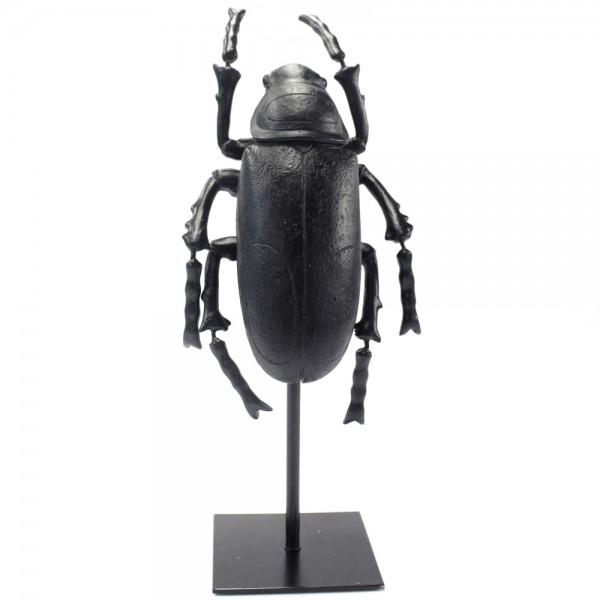 Tisch Deko Figur Abbey Three Käfer Tischdeko Skulptur Standfigur Shabby schwarz