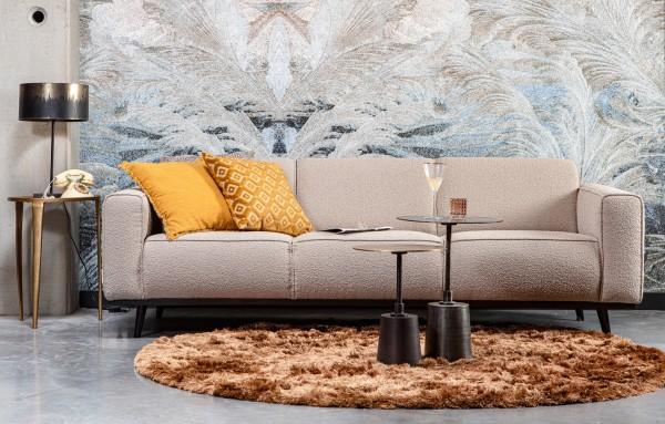 BePureHome 3 Sitzer Sofa STATEMENT Bouclé beige