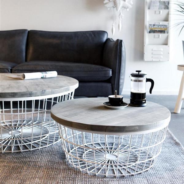 beistelltisch new glory 90 cm wei rund couchtisch. Black Bedroom Furniture Sets. Home Design Ideas