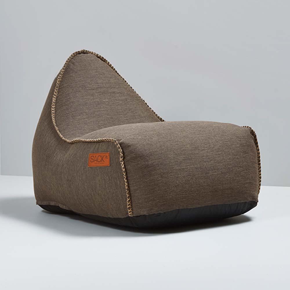 garten sitzsack cobana f r drinnen und drau en retro braun. Black Bedroom Furniture Sets. Home Design Ideas