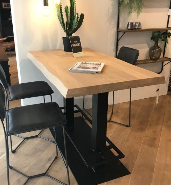 Industrie Bartisch Counter 140 x 80 cm Eiche