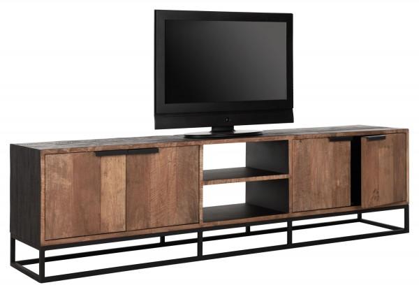 DTP Home TV Möbel Cosmo No.2 large Teakholz Metall