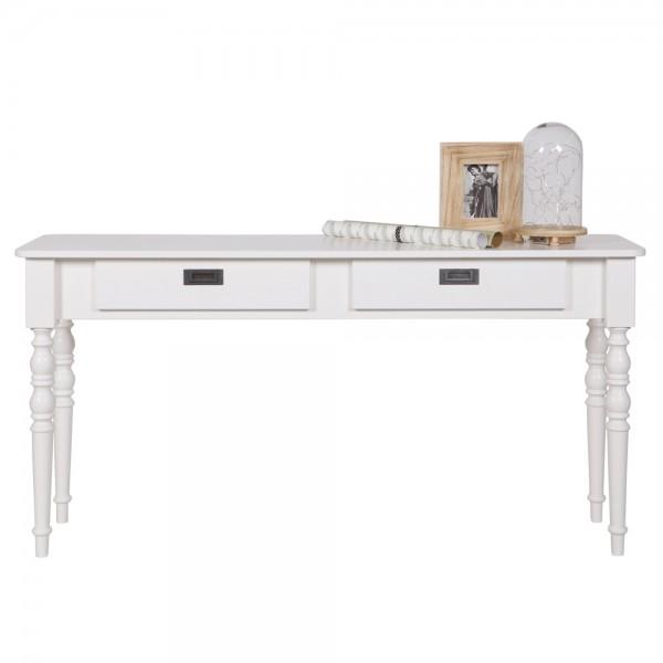Konsole Anrichte QWINT Massivholz Anstelltisch Sideboard Tisch Konsolentisch