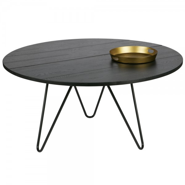 Esstisch CIRCLE Ø 150 cm Esszimmertisch Dinnertisch Massivholz Eiche blacknight-Copy