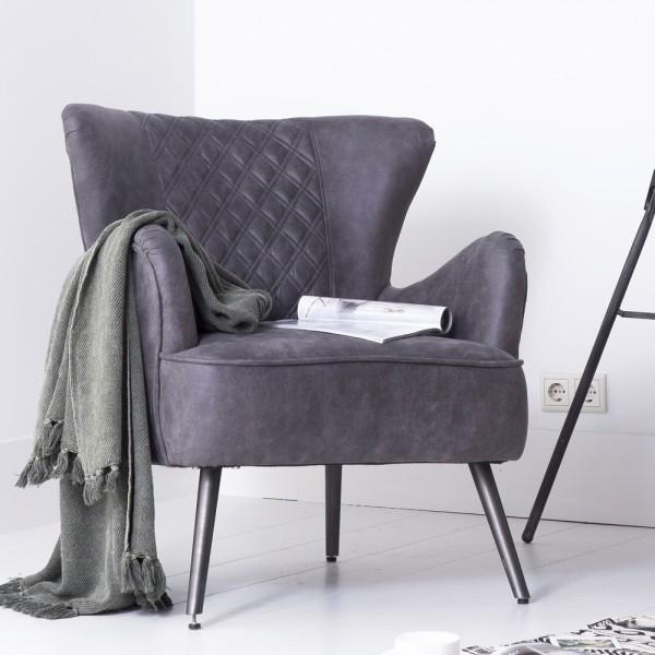 groer ohrensessel excellent cool big sessel lederlook webstoff beige dunkelbraun trend holz. Black Bedroom Furniture Sets. Home Design Ideas