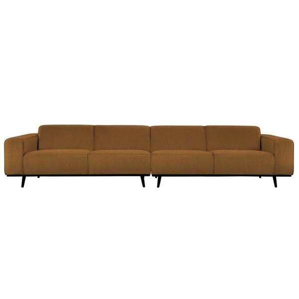 4 Sitzer Sofa STATEMENT XL Bouclé butter Couch Garnitur Couchgarnitur
