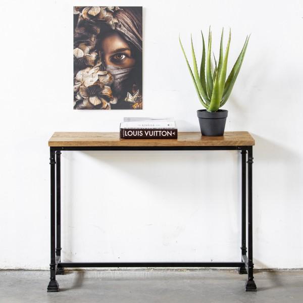 Konsolentisch Venzo 112 cm Akazie Holz Konsole