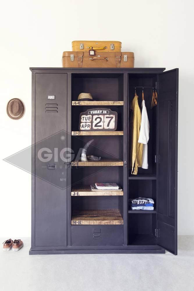 Kleiderschrank locker schranksystem schrank - Schlafzimmerschrank schwarz ...