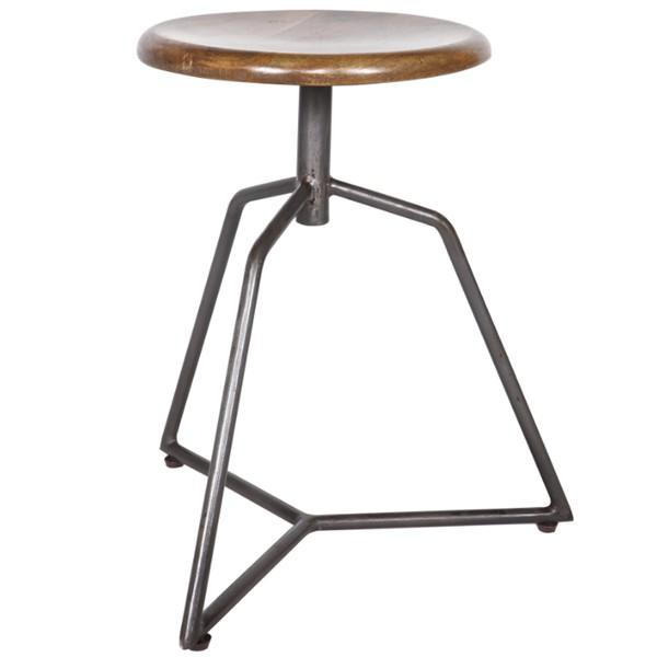 "Sitz Hocker ""Angle"" Sitzhöhe 49 cm"