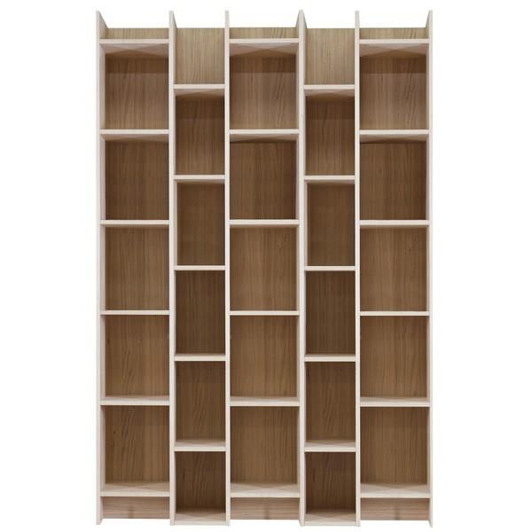 Holz bücherregal  Bücherregal EXPAND BIG Breite 130 cm Eiche Holz Schrank Regal Büro ...