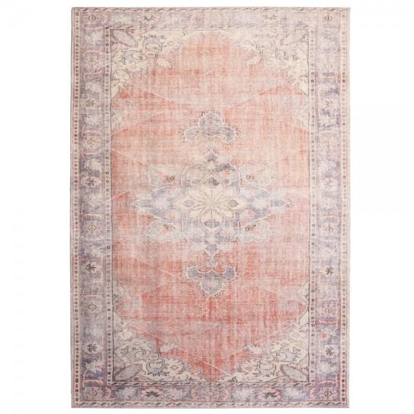 Vintage Teppich Blush 200 x 290 cm rot Oriental Persisch Muster Carpet klassisch orientalisch