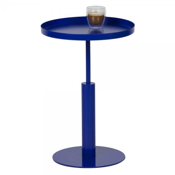 Beistelltisch Silke Ø 40 Couchtisch Anstelltisch Sofatisch Tisch Metall blau