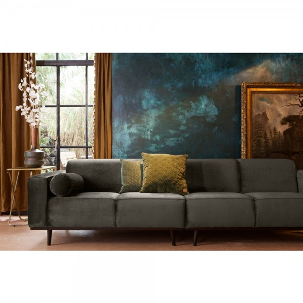 4 sitzer sofa statement samt dunkelgr n couch garnitur lederesofa rh maison esto de