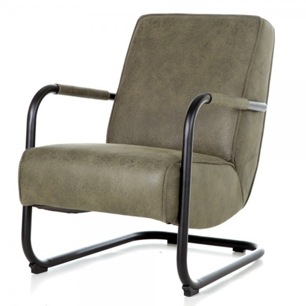 Armlehnensessel PIEN Vintage grün Relaxsessel Fernsehsessel Lounge Sessel