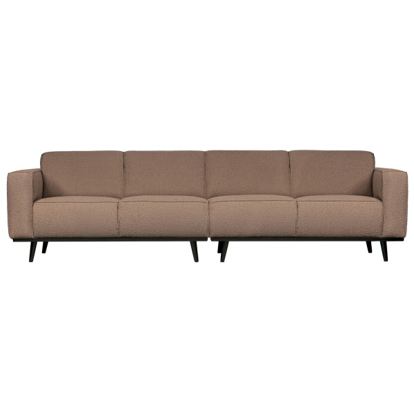 4 Sitzer Sofa STATEMENT Bouclé nougat Couch Garnitur Couchgarnitur