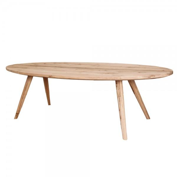 moderner esstisch tisch oval eiche massiv | new! | maison esto, Esstisch ideennn