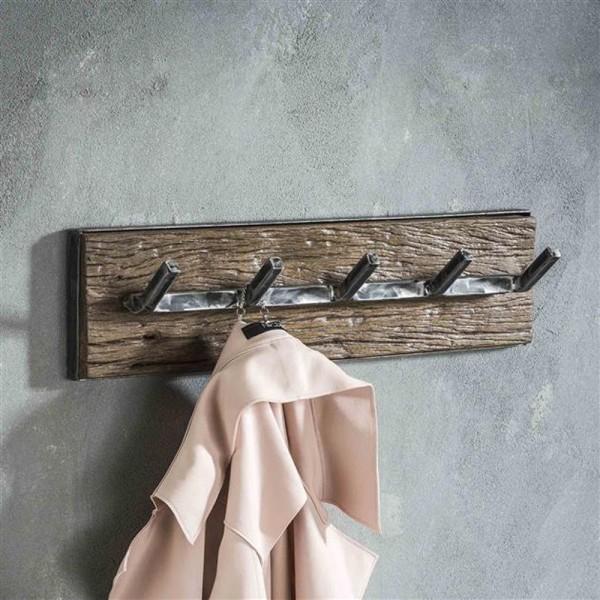 Wandgarderobe Grained 60 cm Kleiderhaken Metall Garderobe