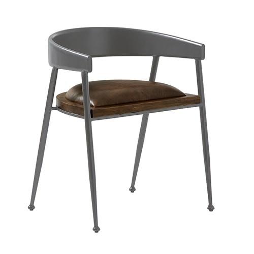 Design Leder Stuhl SYDNEY Essziimmerstuhl Konferenzstuhl Vintage Look patina braun