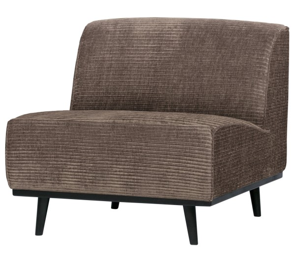 BePureHome Sessel Statement Rib Cord taupe