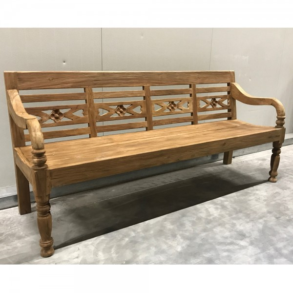 4 Sitzer Gartenbank Fix Kasar 200 cm Bank Teakholz