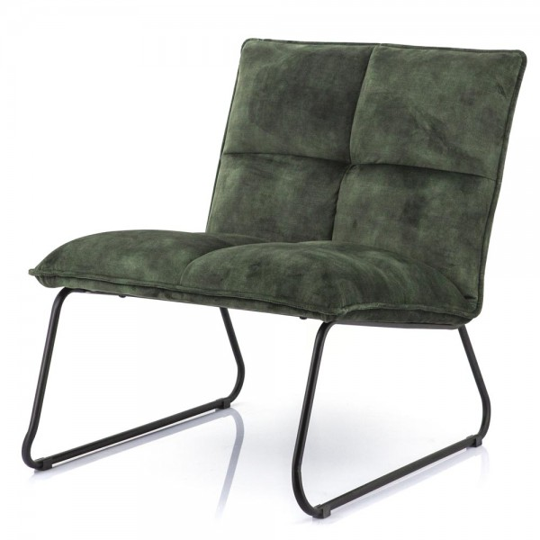 Lounge Chair Sessel Ruby grün