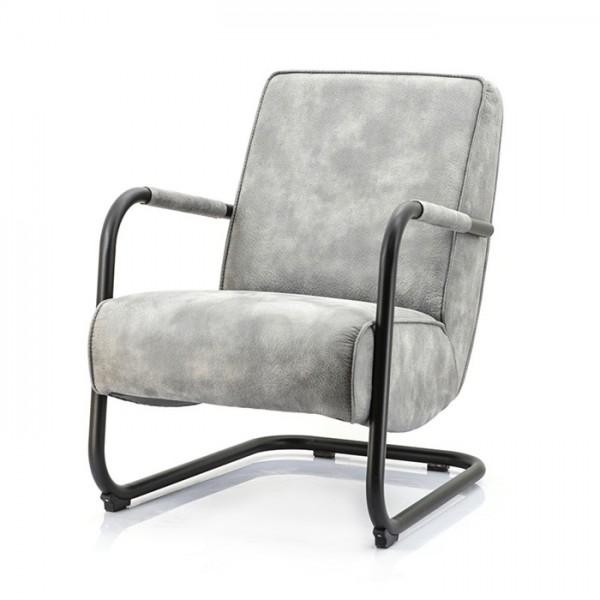 Lounge Sessel PIEN Vintage anthrazit grau