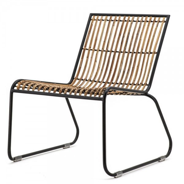 Sessel Kufensessel Kasuaris Loungechair Relaxsessel Fernsehsessel Metall Holz