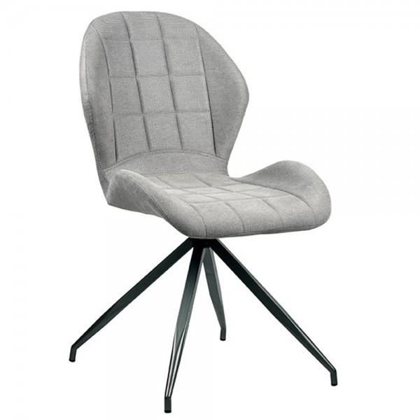 Stuhl Ferm Grau Polsterstuhl Bezug Soft Sessel Esszimmer