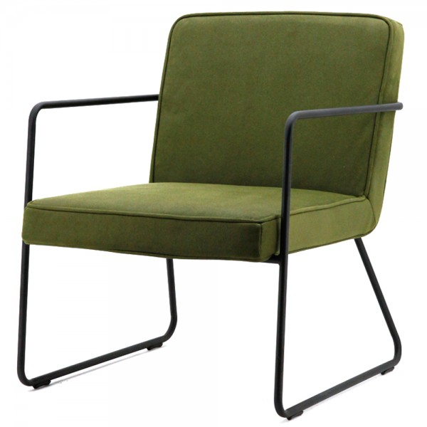Armlehnsessel ALPHA grün Sessel Relaxsessel Fernsehsessel Loungesessel