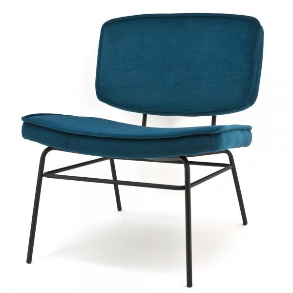 Sessel Loungechair VICE Samtbezug Relaxsessel Fernsehsessel Polstersessel