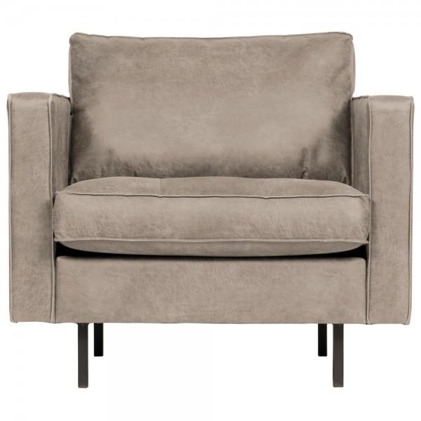 1,5 Sitzer Sessel Rodeo Classic Elefantenhaut grau Lounge Armlehnsessel Fernsehsessel