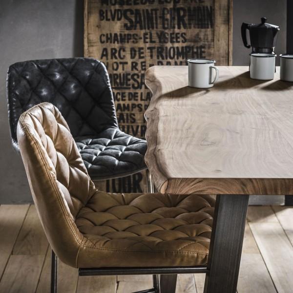 Barstuhl WIM Barhocker braun Sitzhöhe 69 cm